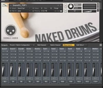 Wilkinson Audios Naked Drums MULTIFORMAT screenshot