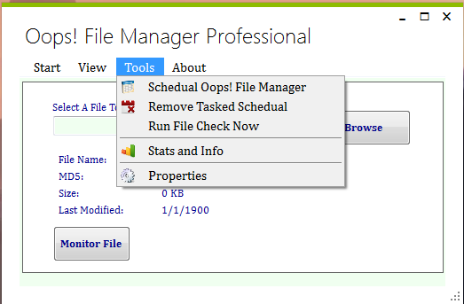 Oops! File Manager Professional 1.2.2.0