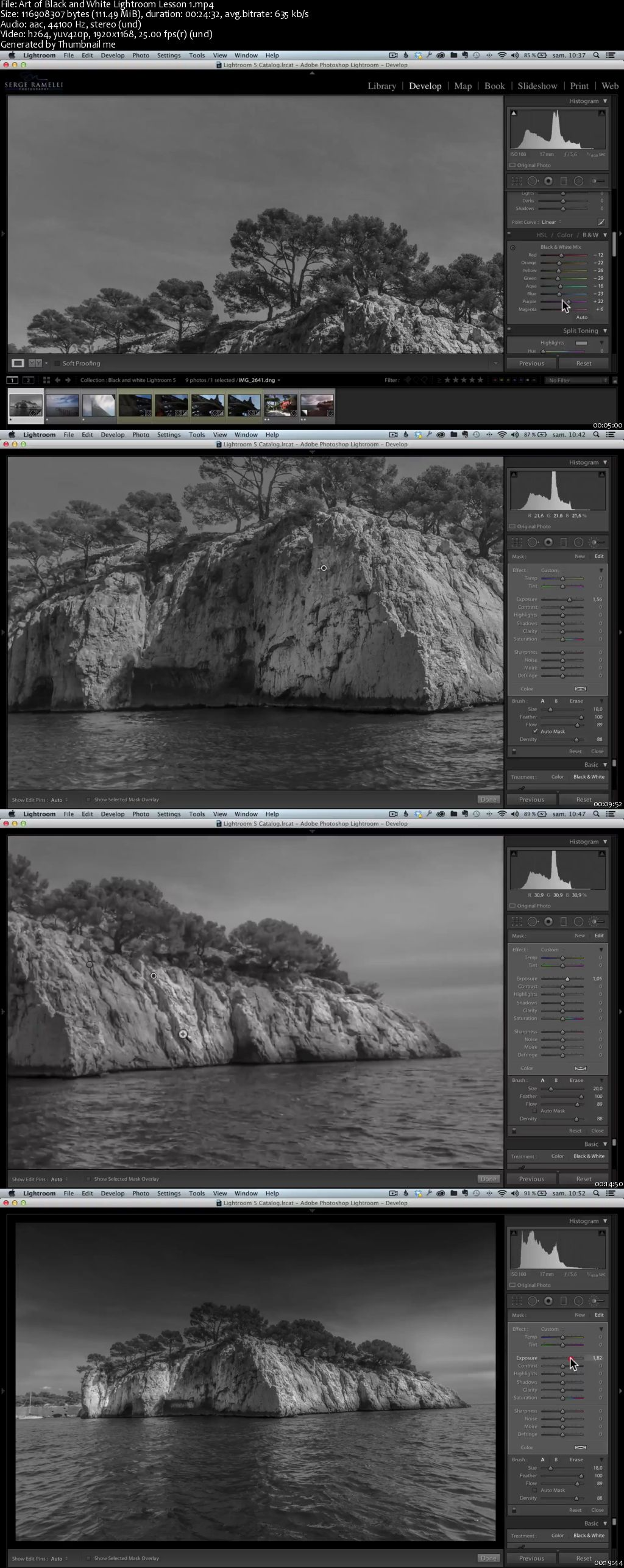 Art of Black & White: Lightroom