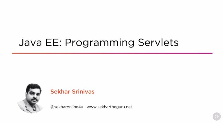 Java EE: Programming Servlets