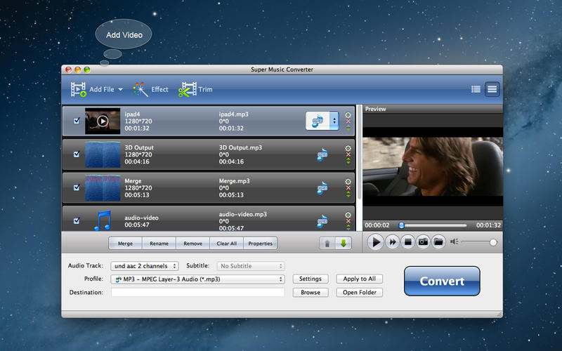 Super Music Converter 6.1.19 Multilingual Mac OS X