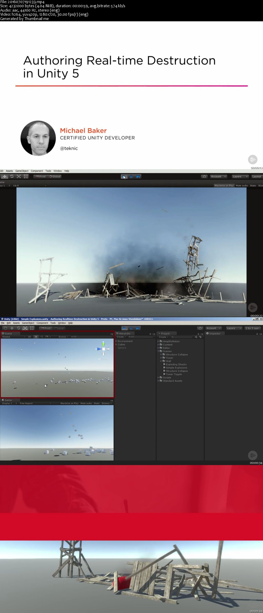 Authoring Real-time Destruction in Unity 5