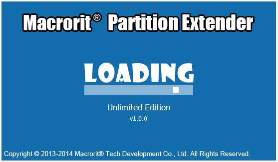 Macrorit Partition Extender 1.0 Unlimited Edition + Portable