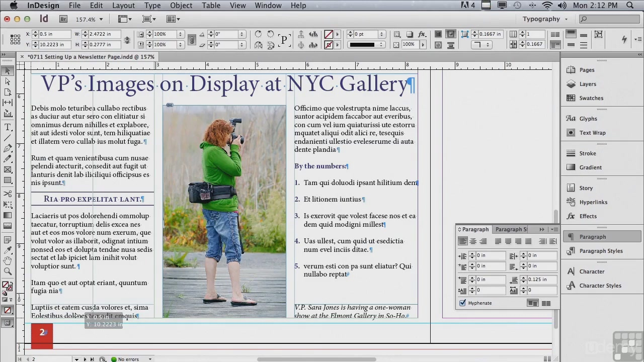 Udemy - Adobe InDesign CS6 Tutorial - Beginners to Advanced Training