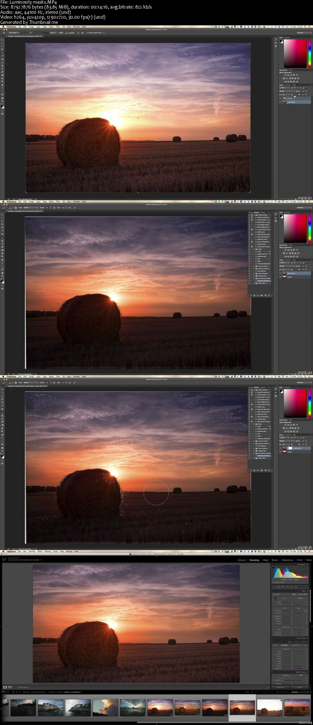Landscape Retouching Workflow