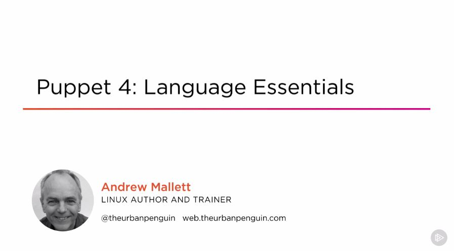Puppet 4: Language Essentials