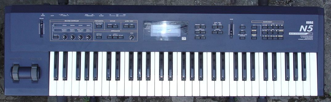 Synthline Korg N5 Internal