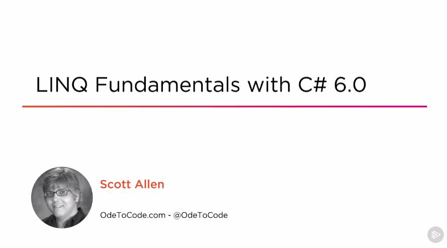 LINQ Fundamentals with C# 6.0