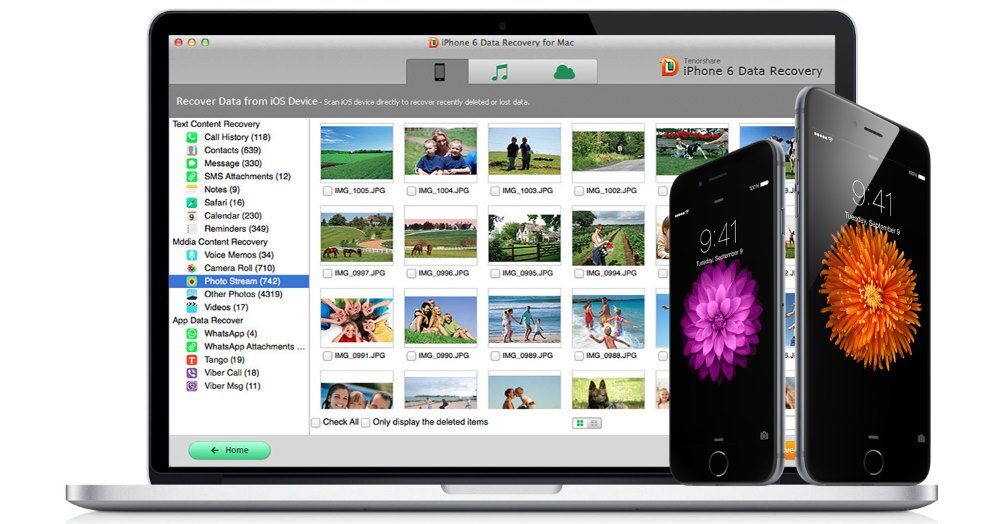 Tenorshare iPhone Data Recovery for Mac 6.8.0.0 MacOSX