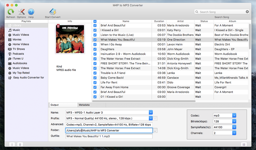 M4P to MP3 Converter 2.2.1