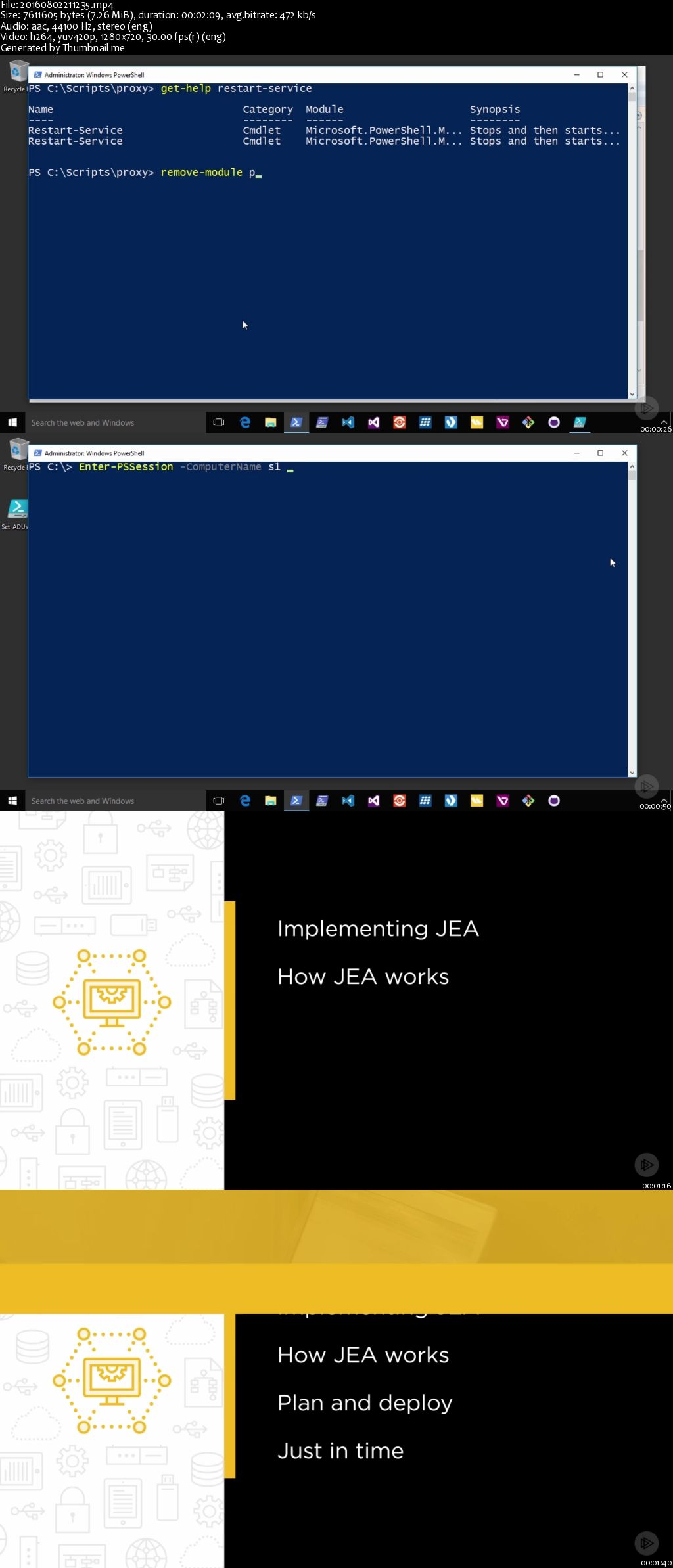 Implementing Microsoft PowerShell Just Enough Administration (JEA)