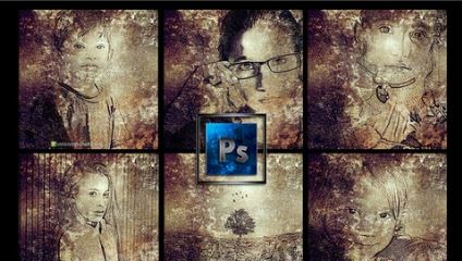 Photoshop-Photo to Ancient Grungy Art in Photoshop