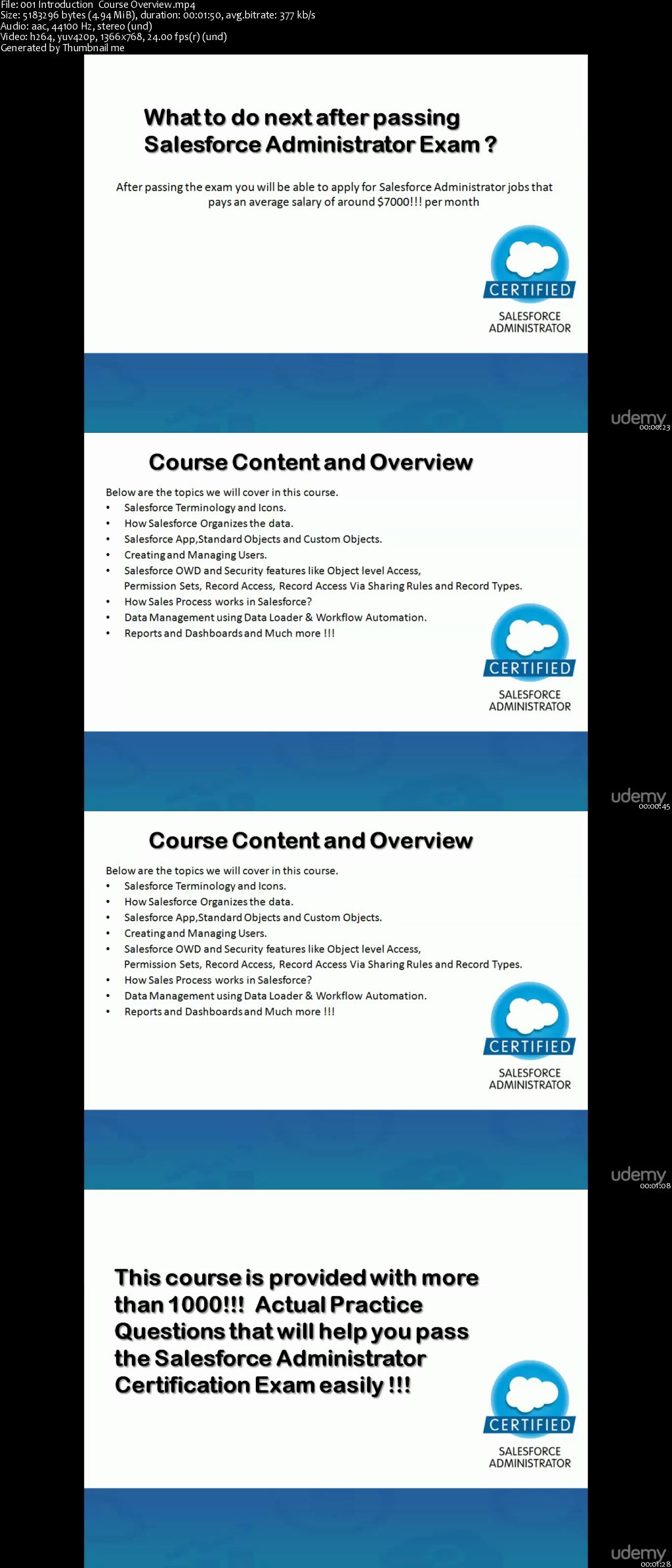Salesforce Administrator Certification Course