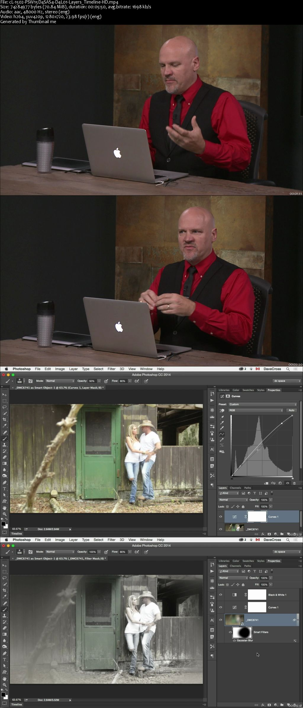 Creating and Editing Video in Photoshop