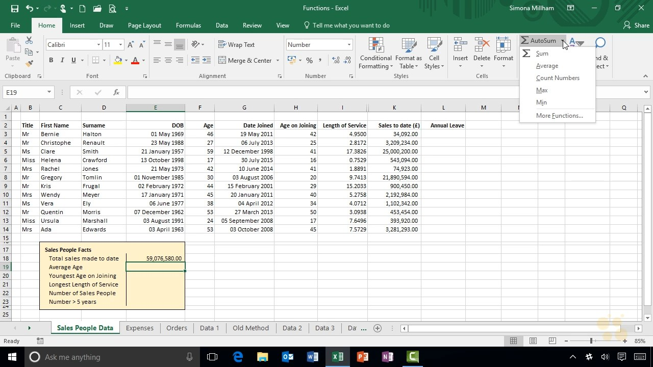 CBT Nuggets - Microsoft Excel 2016