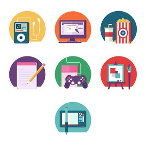 Intro to Design: Illustrating Badges and Icons with Geometric Shapes