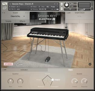 e-Instruments Session Keys Electric R KONTAKT