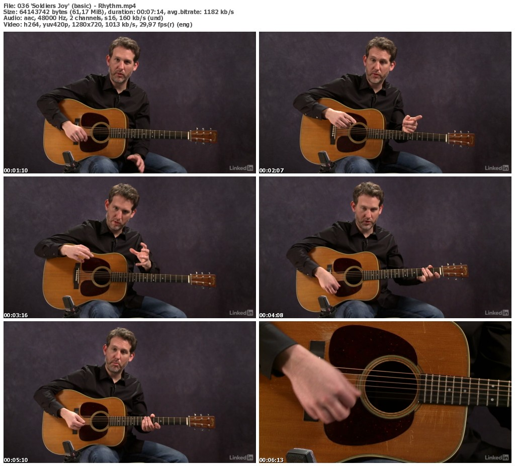 Lynda - Bluegrass Guitar Lessons with Bryan Sutton: Picking, Fretting, and Chords