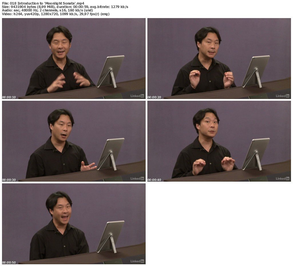 Lynda - Piano Lessons with Hugh Sung: Sight Reading and Classical Pieces