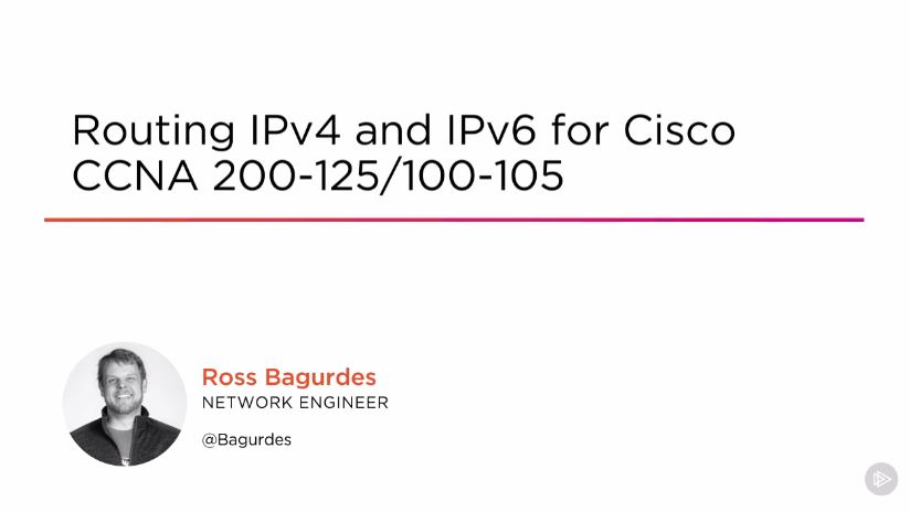 Routing IPv4 and IPv6 for Cisco CCNA 200-125/100-105 (2016)
