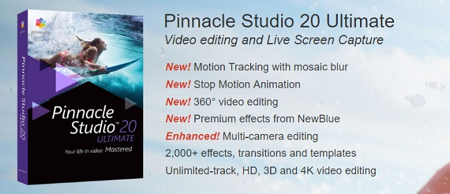 Pinnacle Studio Ultimate 20.5.0 x86/x64