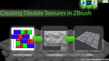 Gumroad – Creating Tileable Textures in ZBrush