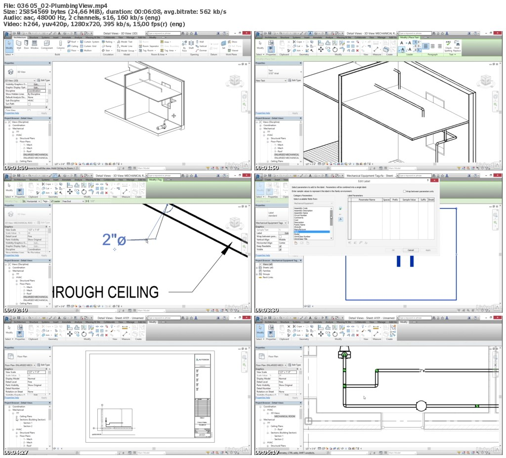Lynda - Cert Prep: Revit MEP Mechanical & Plumbing Certified Professional