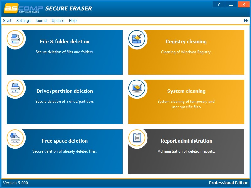 Secure Eraser Professional Edition 5.000 Retail