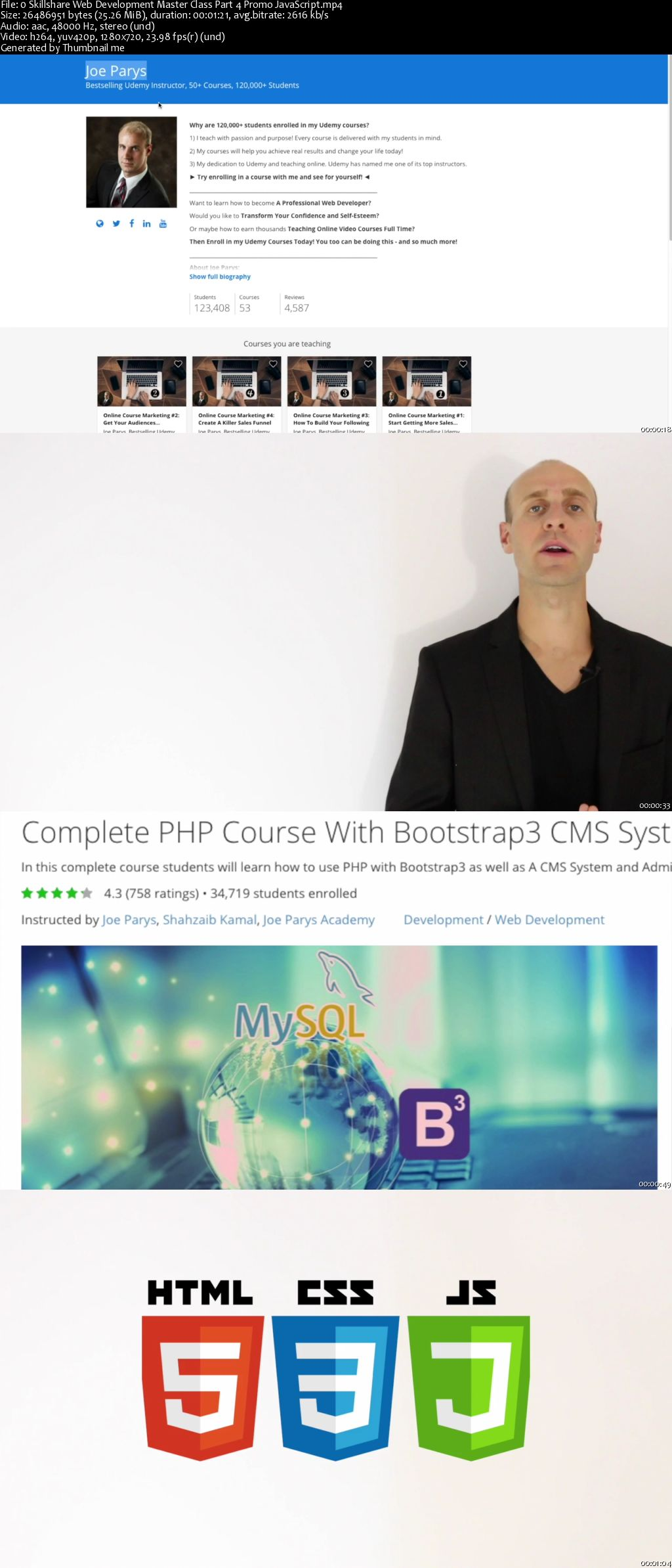 The Complete Web Developer Master Class Part 4: JavaScript