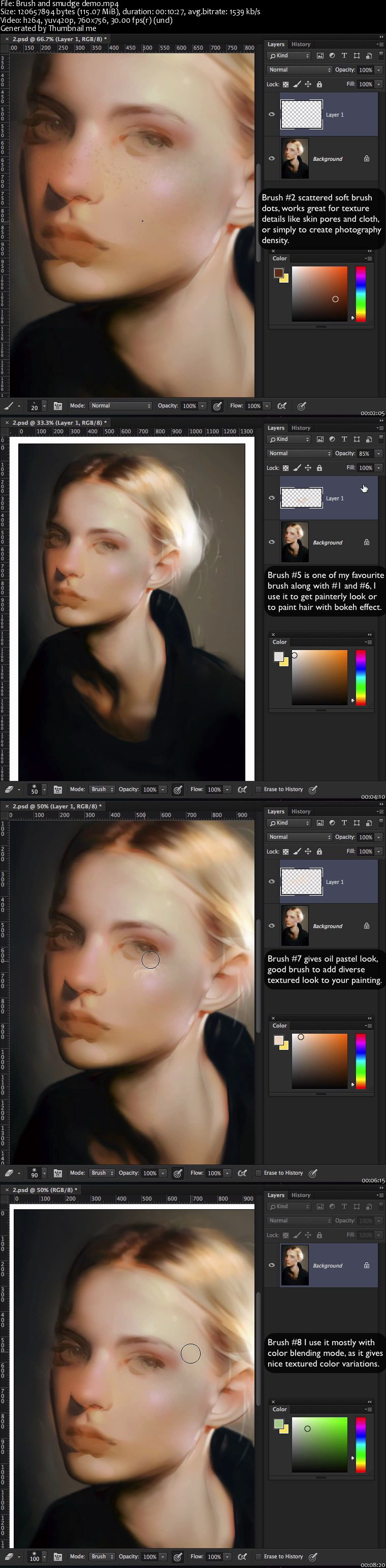 Gumroad - How to Start Portrait Painting