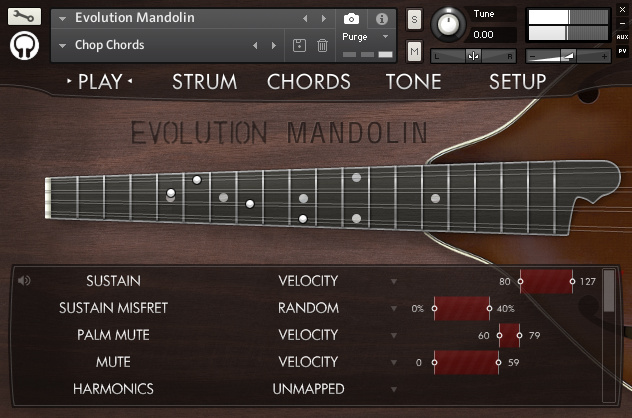 Orange Tree Samples Evolution Mandolin KONTAKT