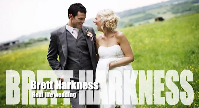 Brett Harkness - Real Life Wedding - Photography Tutorial
