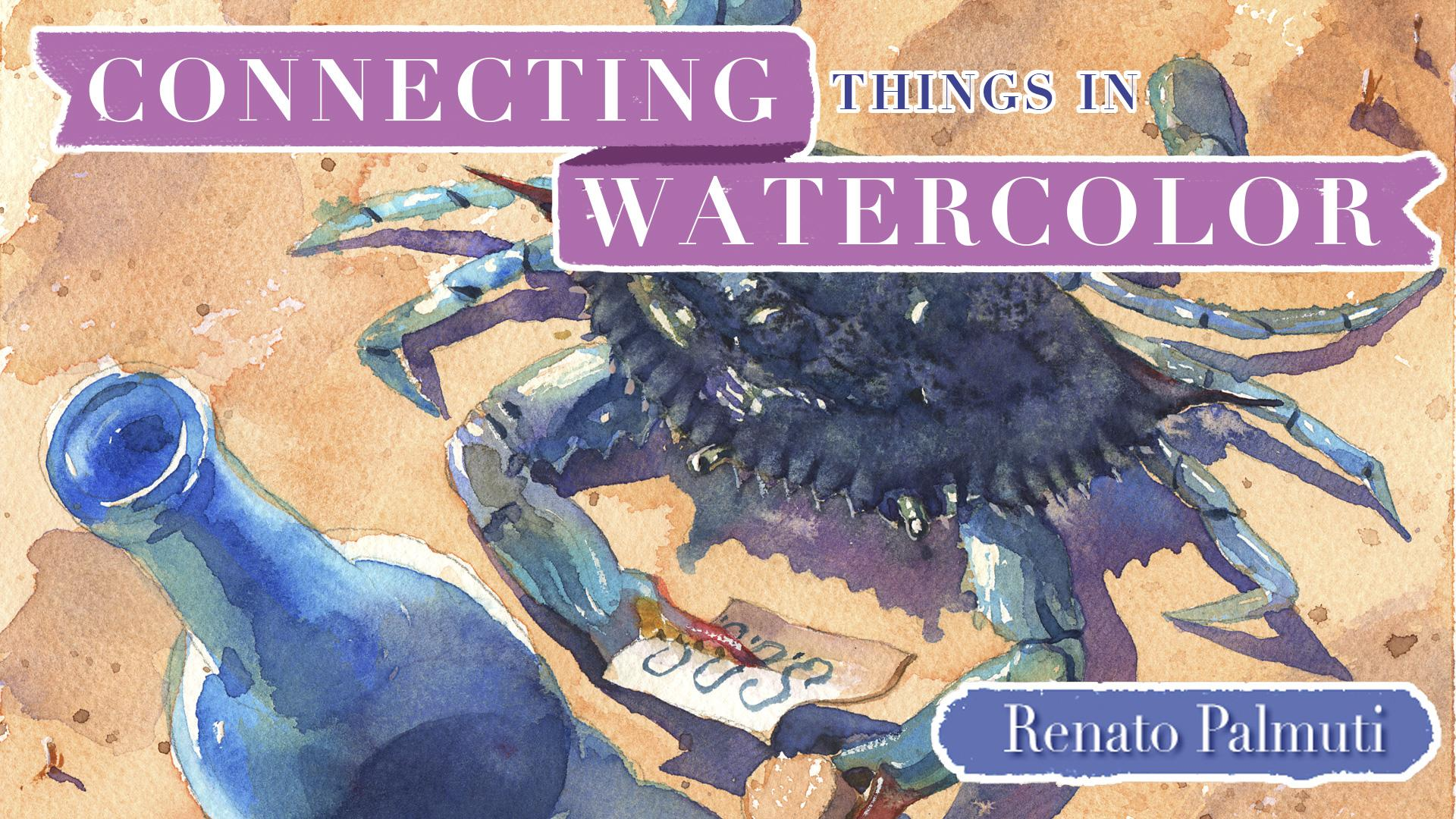 Connecting Things in Watercolor