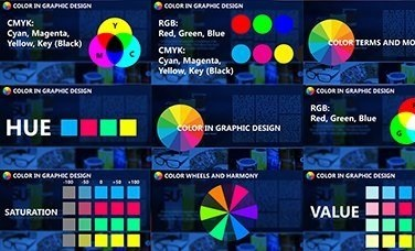 Graphic Design for Beginners Part 3 - Learn and Apply Effective Color