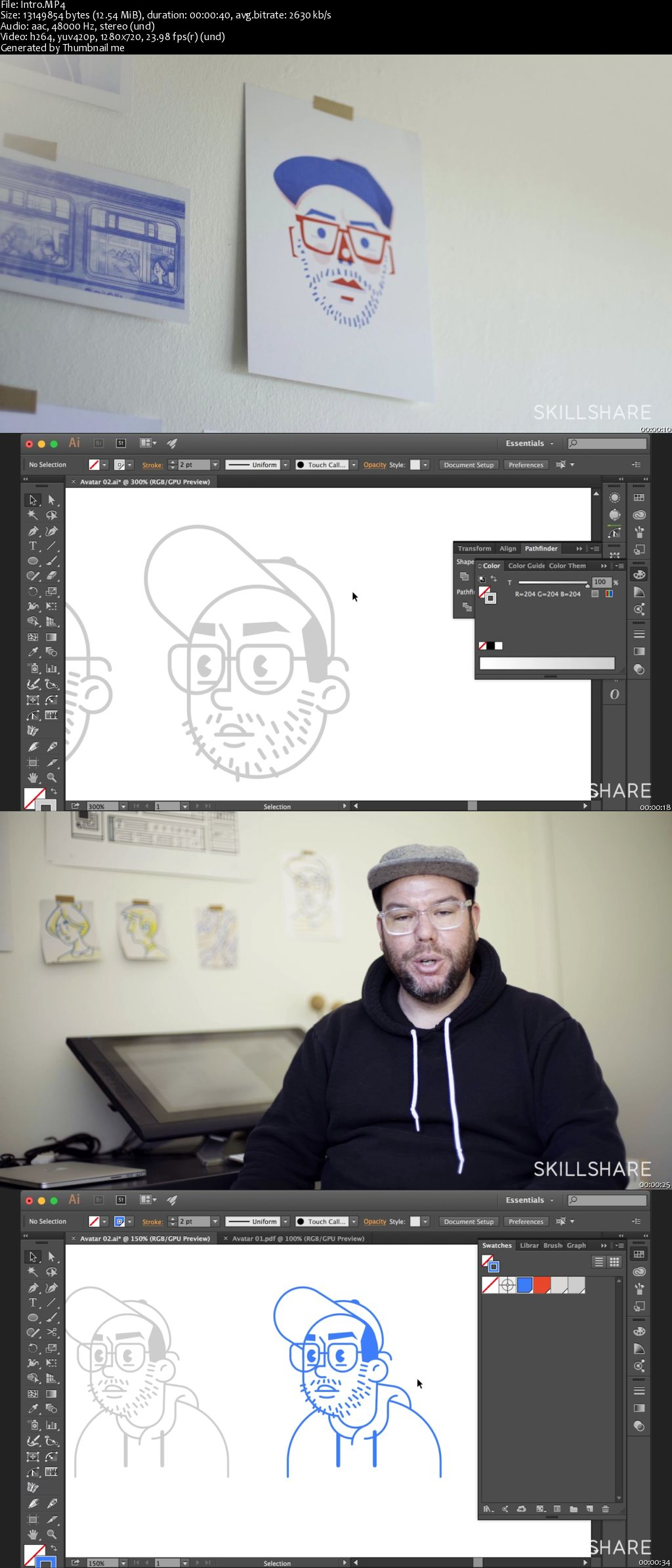 Digital Illustration: Design Your Avatar