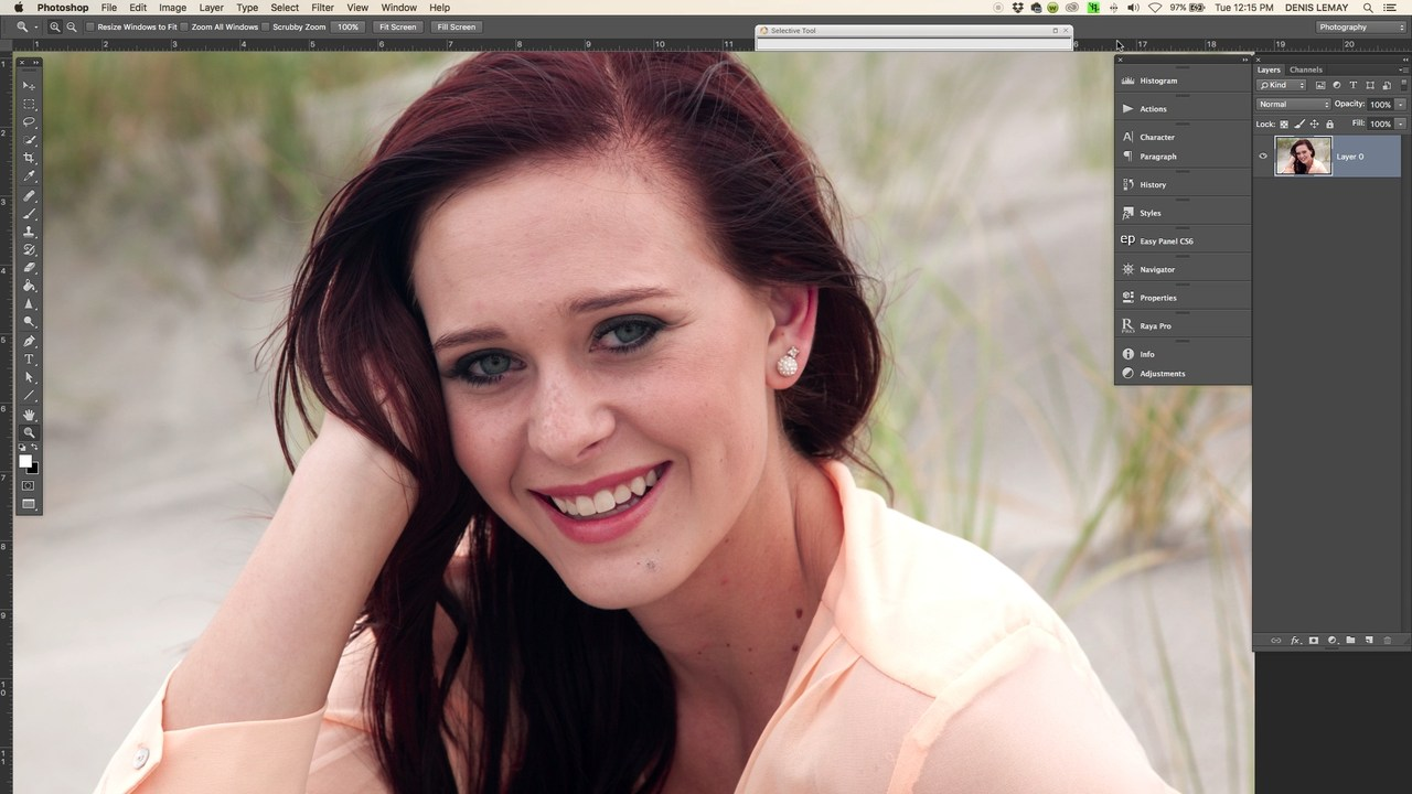 Five To Ten Minute Portrait Retouching In Photoshop