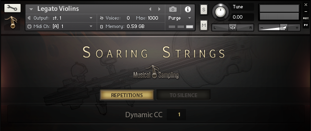 Musical Sampling Soaring Strings KONTAKT