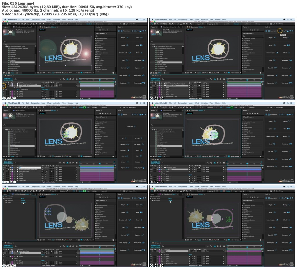 Lynda - After Effects Duik Rigging & Animation Tools
