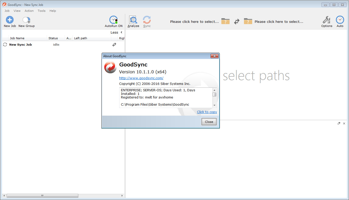 GoodSync Enterprise 10.1.1 Multilingual