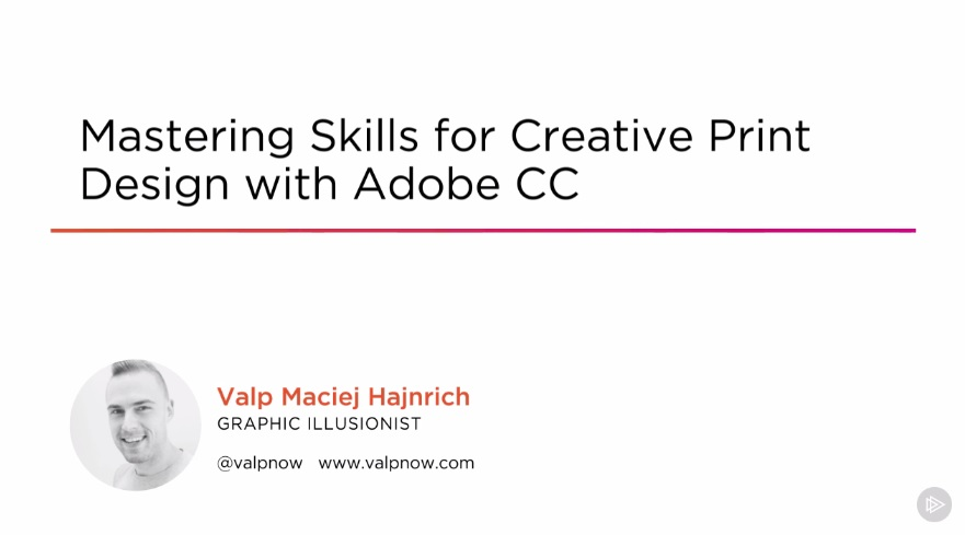 Adobe CC Mastering Skills for Creative Print Design (2016)