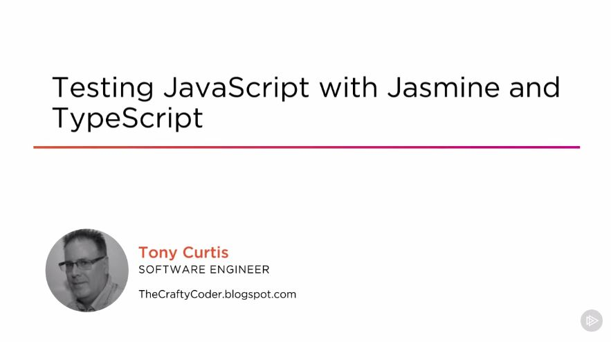 Testing JavaScript with Jasmine and TypeScript (2016)