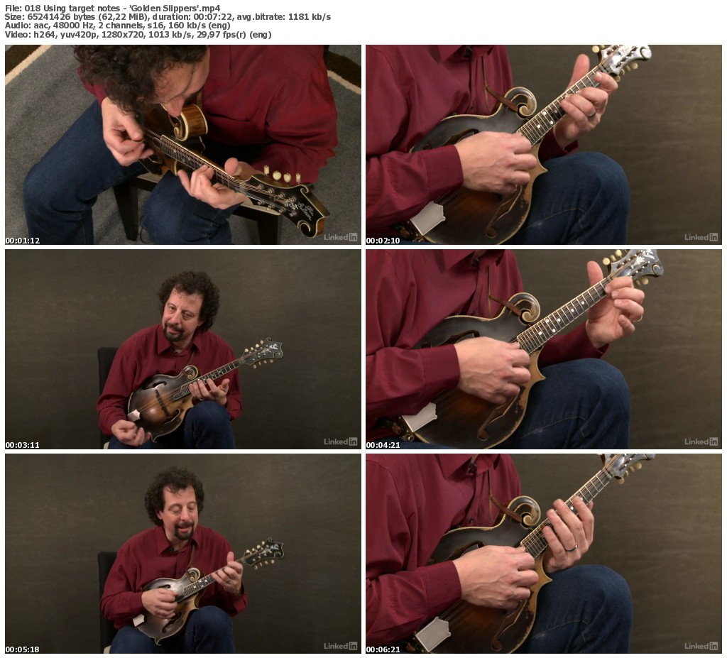 Lynda - Mandolin Lessons with Mike Marshall: 2 Soloing Ideas and Kickoffs