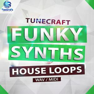 Tunecraft Sounds Funky Synths House Loops WAV MiDi
