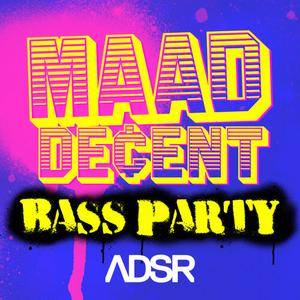 ADSR Sounds MAAD DECENT Bass Party WAV MiDi SAMPLER iNSTRUMENTS PATCHES