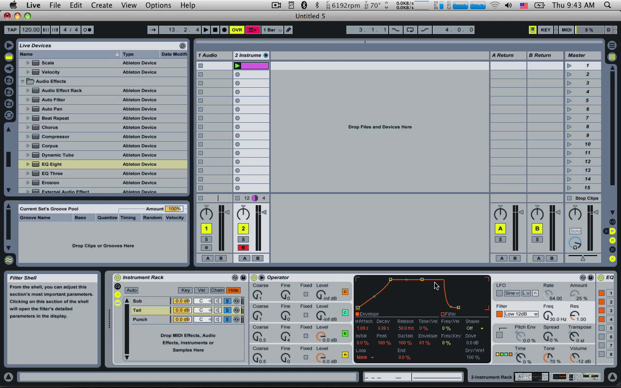 Ableton Live Sound Design with Tom Cosm