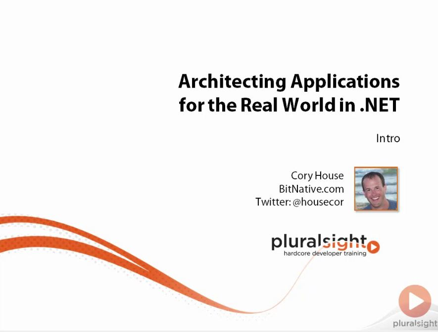 Architecting Applications for the Real World in .NET [repost]