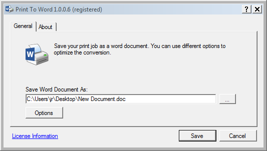 Print To Word 2.0.0.15