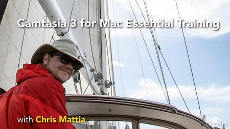 Lynda - Camtasia 3 for Mac Essential Training (updated Oct 18, 2016)