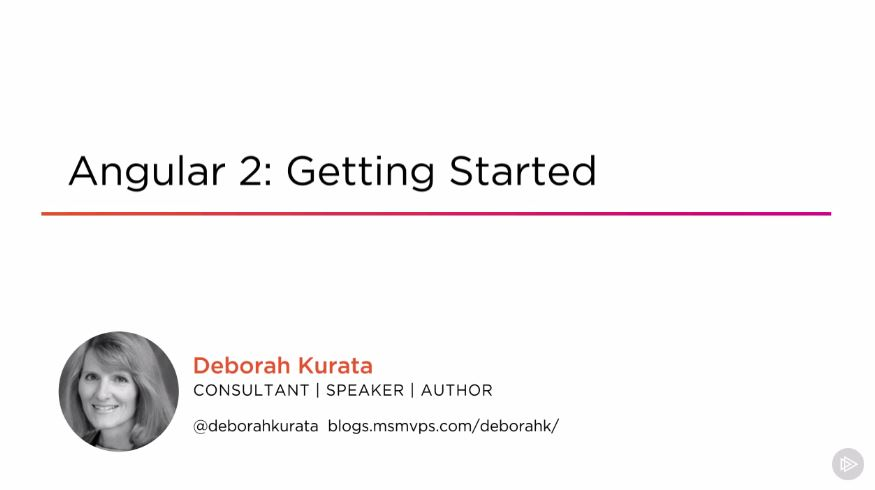 Angular 2: Getting Started (2016)