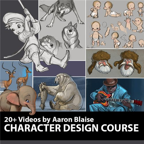 Character Design with Aaron Blaise (2016)